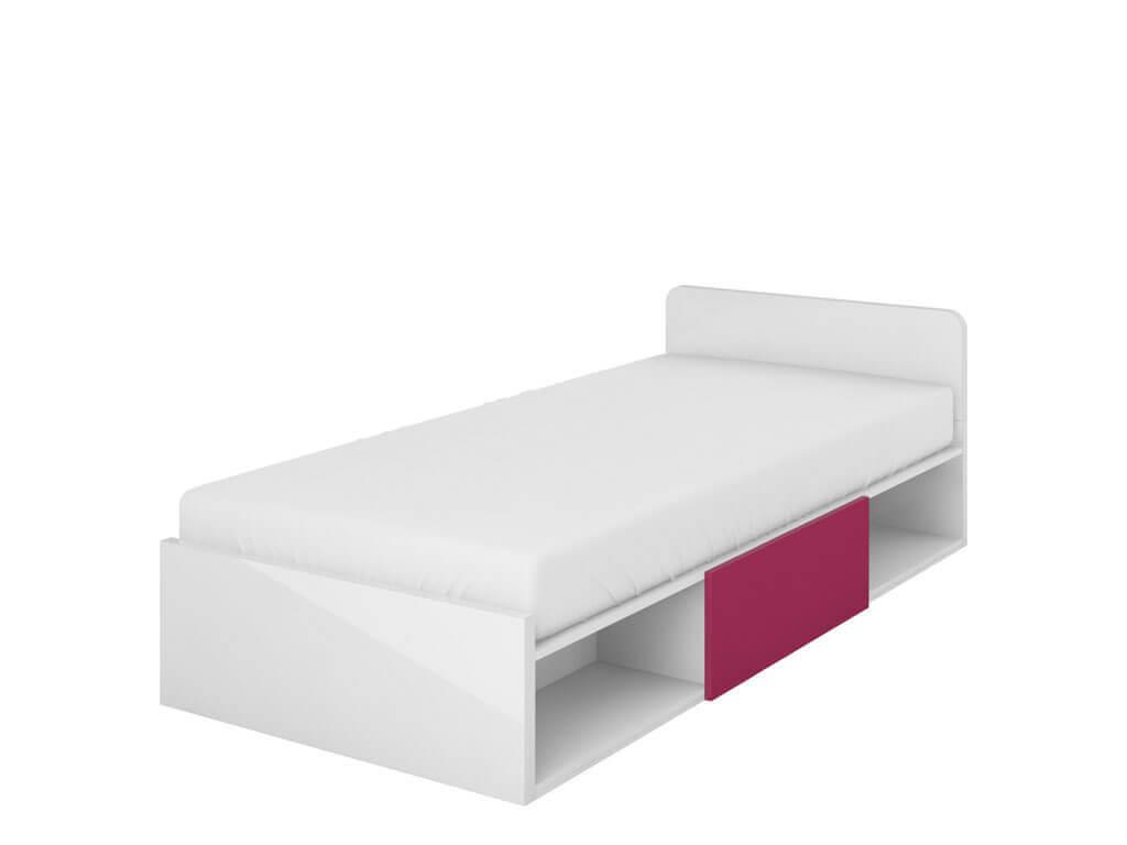 Łóżko z materacem i pojemnikiem