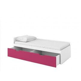 Łóżko młodzieżowe górne z materacem