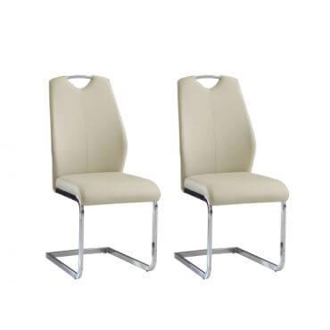 Krzesła do jadalni ANGALO komplet 2 szt.