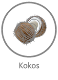 lateksowane włókno kokosowe