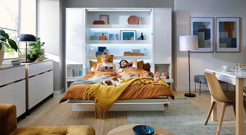 meble do pokoju bed concept