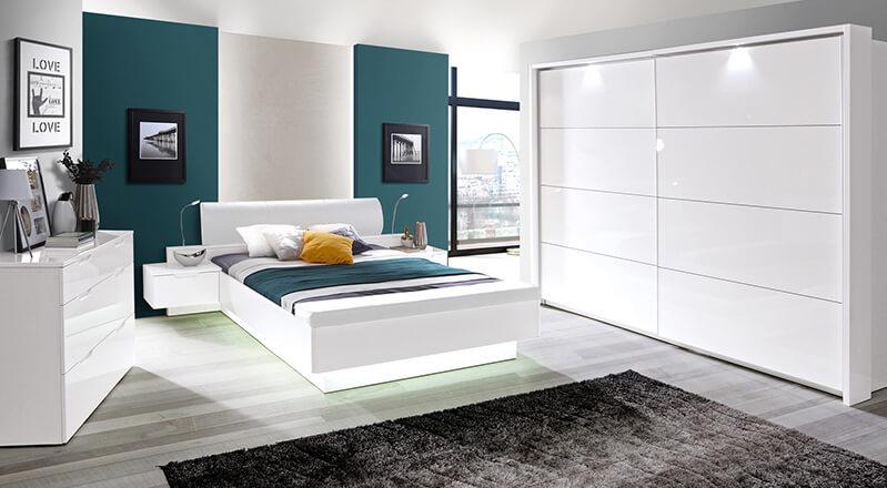 meble do sypialni starlet white